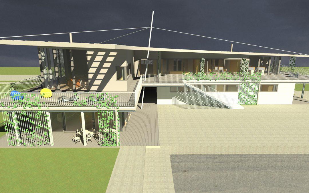 Indul a kikötő épületének újjáépítése